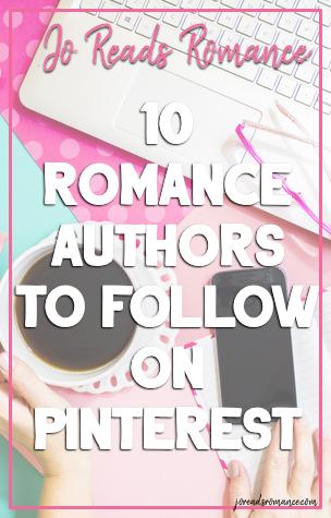 10 Romance Authors To Follow on Pinterest