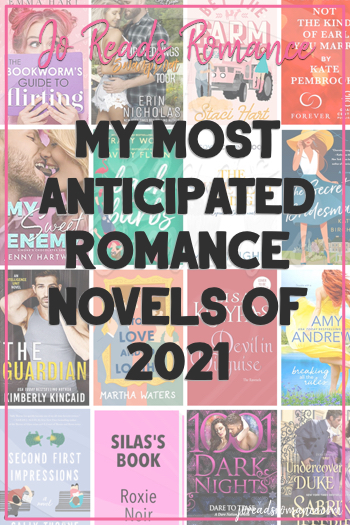 My Most Anticipated Romance Novels of 2021
