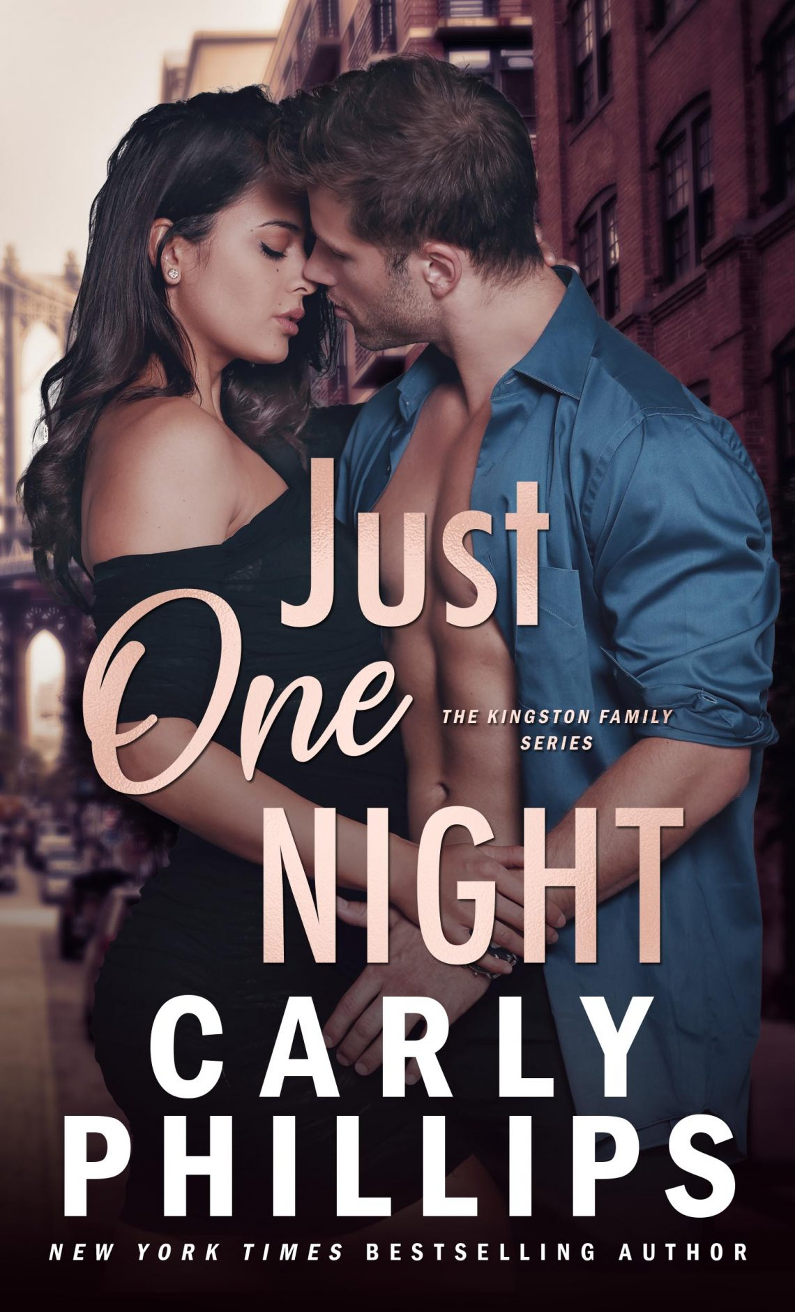 Picture of the book cover for Just One Night by Carly Phillips