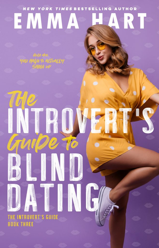 Book cover of The Introvert's Guide to Blind Dating by Emma Hart