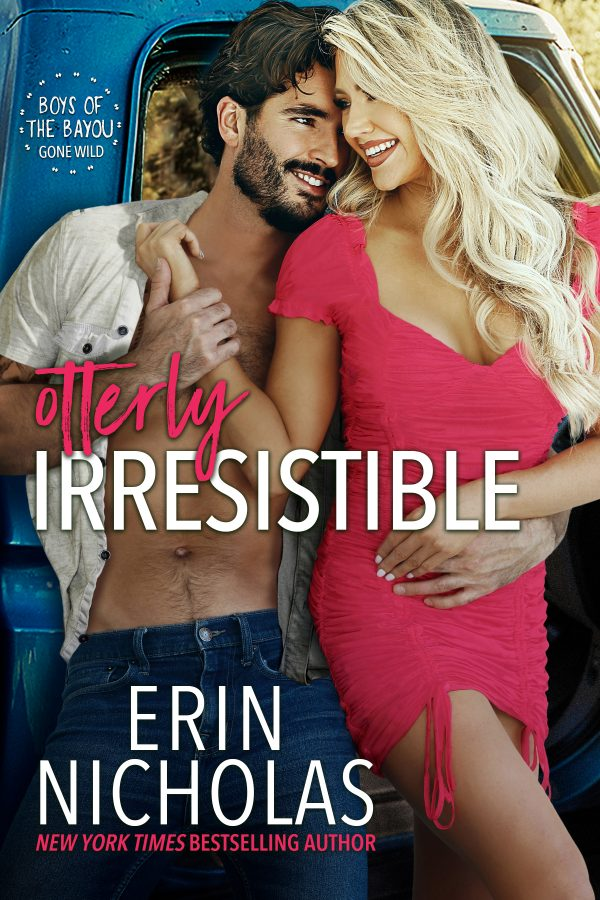 Picture is of the book cover for Otterly Irresistible by Erin Nicholas