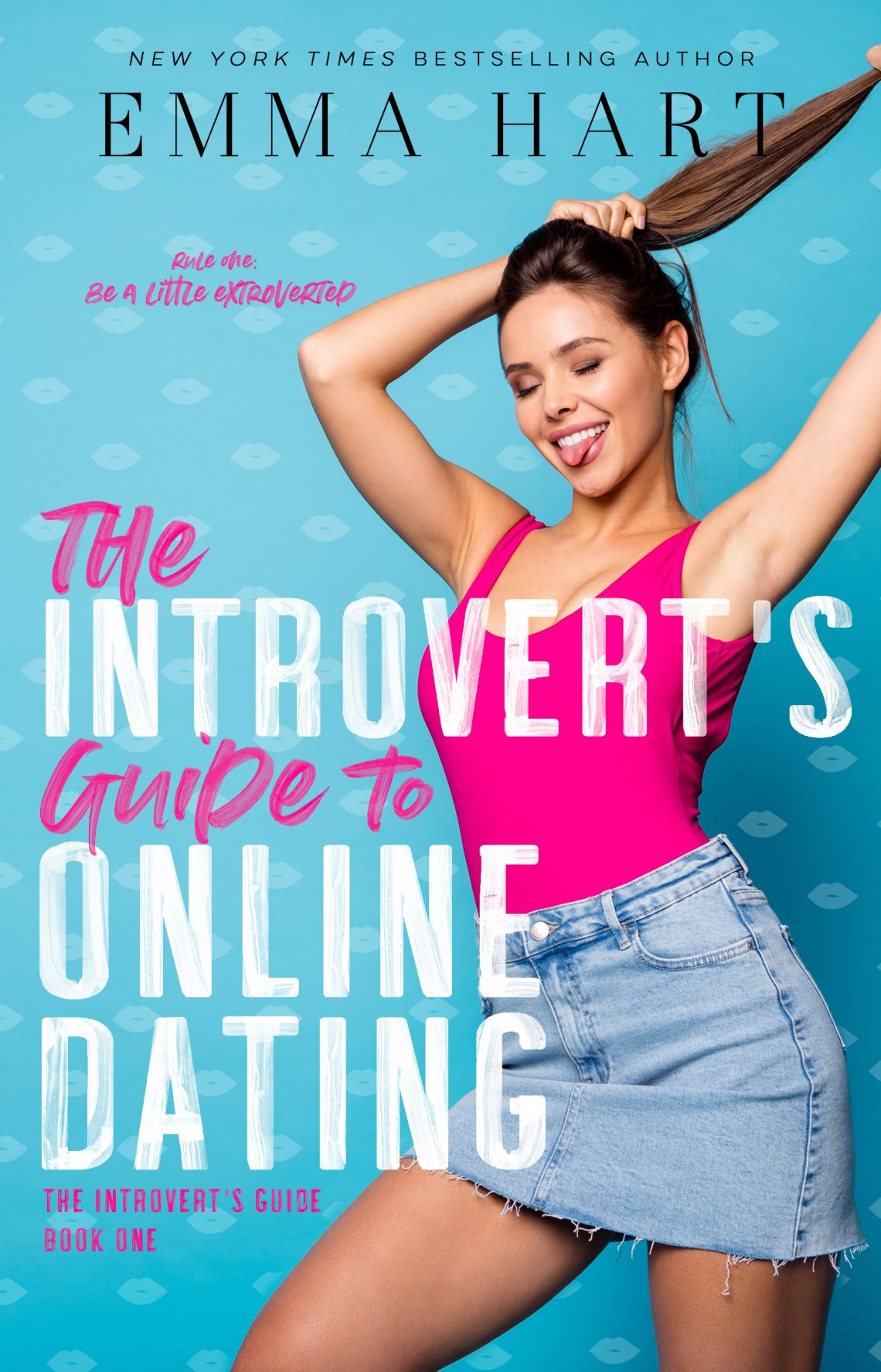 Book cover of The Introvert's Guide to Online Dating by Emma Hart