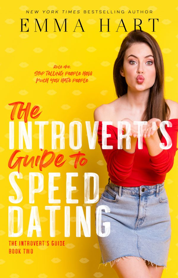 Book Cover of The Introvert's Guide to Speed Dating by Emma Hart