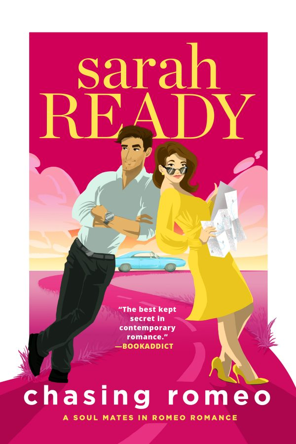 Book Cover of Chasing Romeon by Sarah Ready