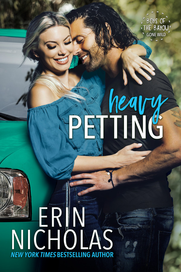 Book COver of Heavy Petting by Erin Nicholas Boys of the Bayou Gone Wild