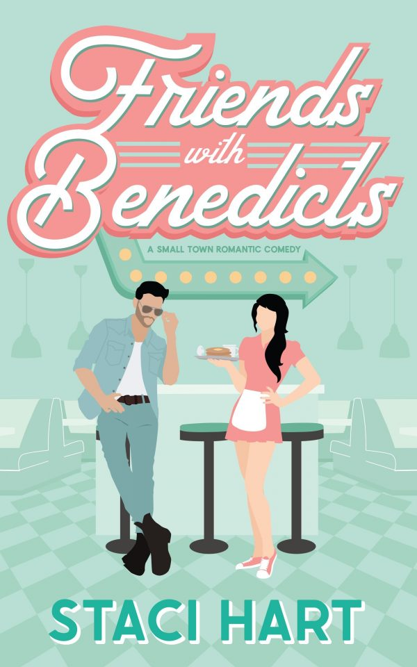 Book Cover of Friends with Benedicts Staci Hart