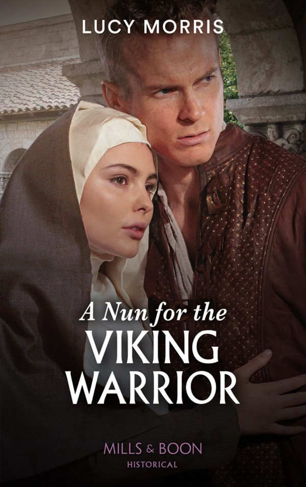 A Nun For The Viking Warrior by Lucy Morris Cover